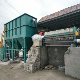 诸城广晟环保设备公司-石材切割污泥脱水机供应商