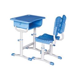 学生升降课桌椅 塑钢课桌椅