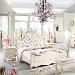卧室双人大床定制