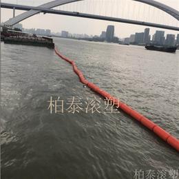 河道拦水浮莲水草环保塑料进口聚乙烯材质浮筒