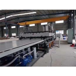PP中空塑料建筑模板挤出生产线
