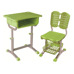 HL-A1911单人塑料旋转式课桌椅
