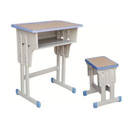 HL-A1933注塑包边双柱课桌凳