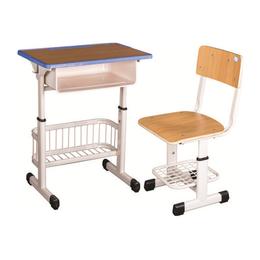 HL-A1941注塑包边套管升降课桌椅