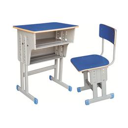 HL-A1951多层板双层双柱课桌椅