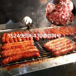 火爆的网红台湾烤肠--阿里山土著大烤肠
