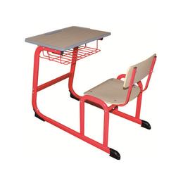 HL-A1957外贸版单人连体课桌椅