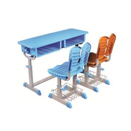 HL-A1970塑料双人旋转式课桌椅