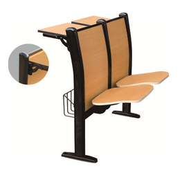 钢管自动静音翻版课桌椅缩略图