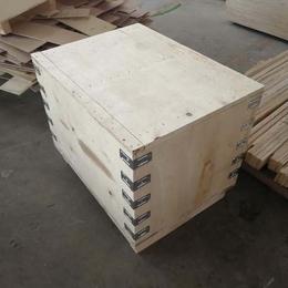 山东青岛黄岛木质包装箱厂家定制胶合板木箱 出口免熏蒸