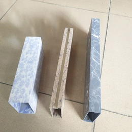 供应型材铝方通 凹槽铝方通 木纹铝格栅 石纹铝格栅