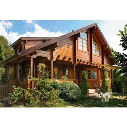 胜达v木屋木屋(图),进深二层,通城别墅木屋米小木业米别墅98开间图片