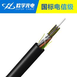 室外非金属 抗拉耐寒架空 管道光缆GYFTY厂家直销可定制