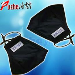 河南浦喆警用防雾霾口罩警用带滤芯防雾霾口罩厂家