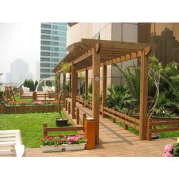 厂家定制户外防腐木凉亭花架景观仿古长廊园林花架庭院设计安装