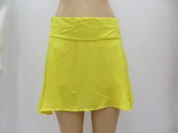 超薄女款纯色裤裙侧边拉链时尚裙裤
