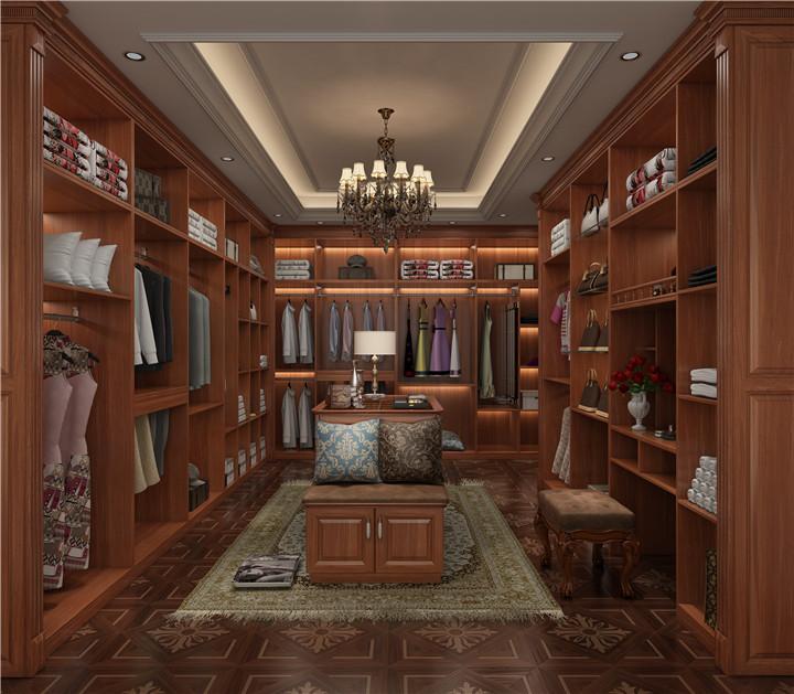 古典中式全屋家具-衣帽间
