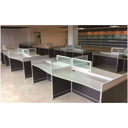 ZH-BGPF04单人屏风办公桌
