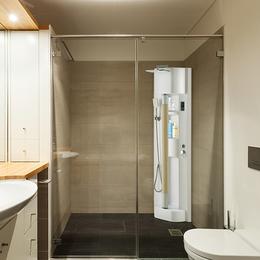 搓霸牌家用自动搓澡机洗浴心享受合瑞集团改变生活开创洗浴新时代
