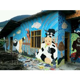 壁画、瓷砖背景壁画、申达陶瓷厂(优质商家)