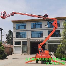汉中市车间维修升降作业车 18米电动举升机供应移动升降台报价