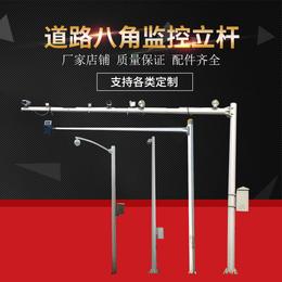 厂家直销监控立杆2米4米6米小区不锈钢监控立柱可批发定制