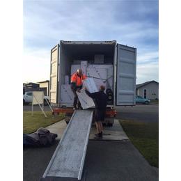 胜航澳洲珀斯海运物流家具电器集装箱拼柜海运澳洲堪培拉