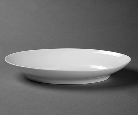 唯美12寸橢圓湯盤