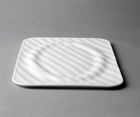 雅丝11.8寸长方冷品盘
