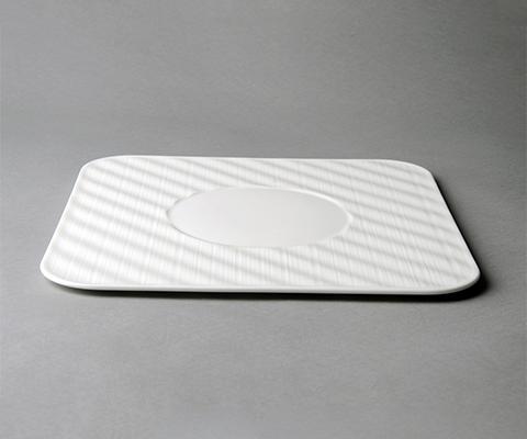 雅丝11.8寸四方展示盘