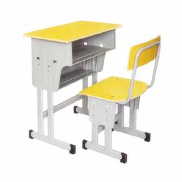 江西儿童学习桌 小学生辅导培训班课桌椅 可升降学生桌椅批发