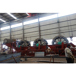 轮式洗沙机筛沙水洗机山东青州生产商缩略图