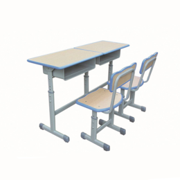ZH-KZ011双人课桌椅