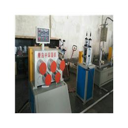 中瑞PP夹心打包带生产线单螺杆片材挤出机qy8千亿国际厂家
