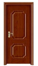 免烤漆雕花复合木门