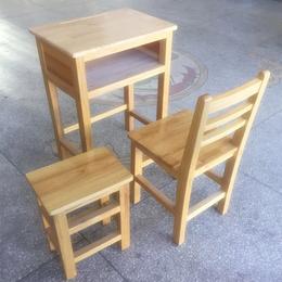 江西厂家****实木双人课桌椅学生实木课桌椅