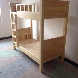 幼儿园实木床 原木双层床 热卖