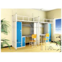 廠家生產 江西型材雙人連體公寓家具 大學生鋼制公寓床上床下鋪