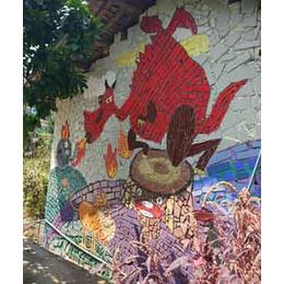 申达陶瓷厂(图),陶瓷壁画,壁画