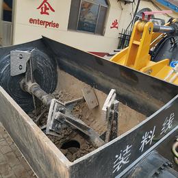 可以铲车可以搅拌的两用机型拆装方便改装搅拌斗价格