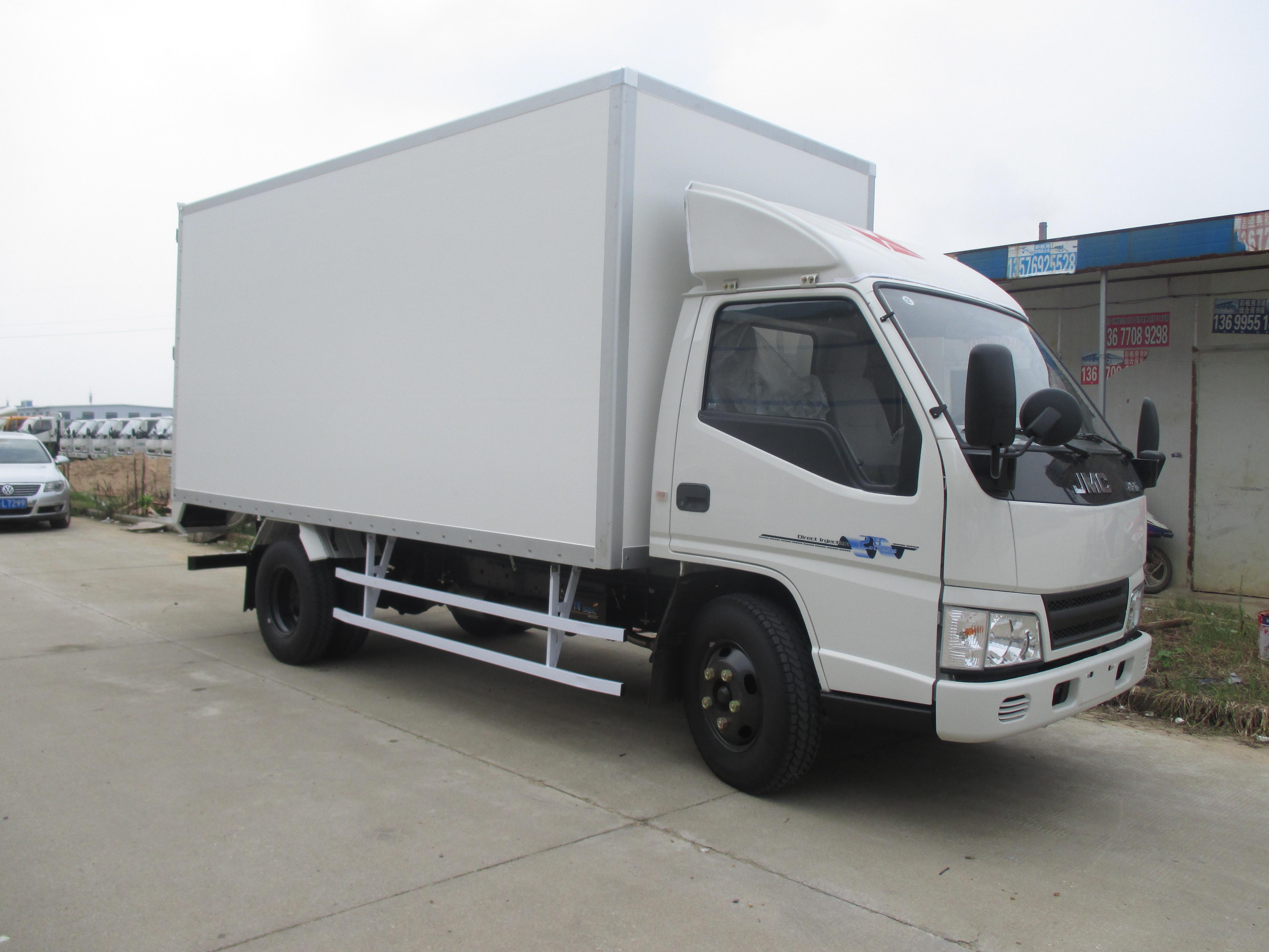 新顺达德邦干货板厢式运输车