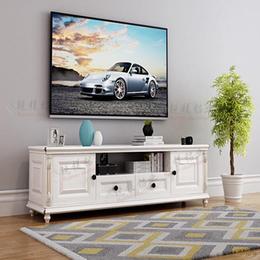 简约欧式复古全铝合金电视柜 全铝博古架成品定制