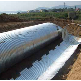 北京丰台钢质波纹涵管_波纹管涵洞_隧道用拼装波纹涵管