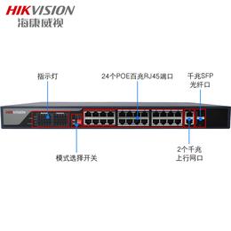 易信购城出售海康威视DS-3E0326P-E POE交换机