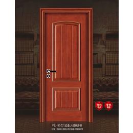 FSJ-8102 加拿大樱桃木1号卧室门