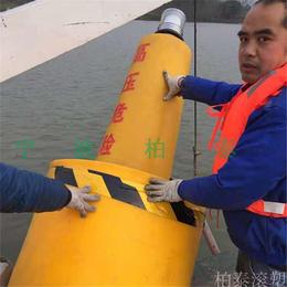 海上定点监测水质航标湖面保护区警示航标