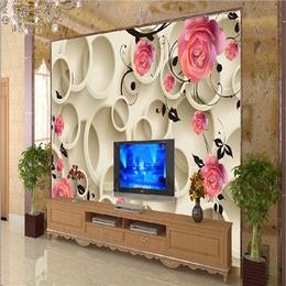 各种风格 3D背景墙