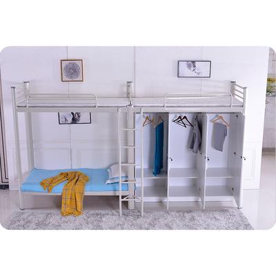 公寓床连体组合床学生宿舍床上床下柜上床下桌组合床带衣柜书桌