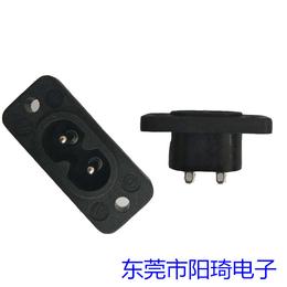 锁式焊线八字插座东莞音响插座