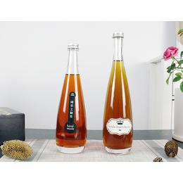 500ml冰酒瓶 红酒瓶洋酒瓶 玻璃瓶厂家